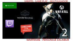 WARFAME Xbox one Personaje Excalibur | Parte 2