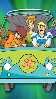 Scooby Doo...yup! still have a soft spot for this show in my heart..<3