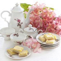 Tea Time & Lemon Bars {Sprinkle Charms}