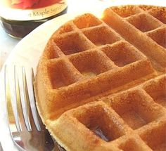 100% whole wheat waffles 1/3 cup batter is 8 points....but sooooo worth it!  😍