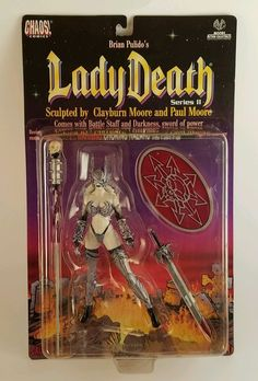Moore Action Collectibles Brian Pulido Lady Death action figure   | eBay