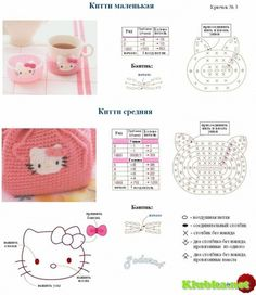 Hello Kitty face chart