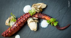 #20160525 #PairingRiasBaixasWine with this Food récipe: Octopus, Oyster, (Mussels) #MusselsFoam  Recipe by JP McMahon for The Foods and Wines of Rías Baixas. ~ https://thetaste.ie/wp/octopus-oyster-mussels-recipe-by-jp-mcmahon-for-the-foods-and-wines-of-rias-baixas/