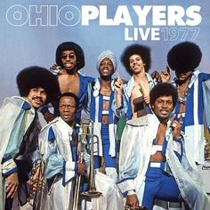 Ohio Players Live 1977 on 2LP A vintage 1977 concert performance by one of the greatest funk/R&B bands that ever was, the platinum-selling Ohio Players. Features the classic line-up performing their a