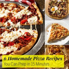 Whole-Wheat Flaxseed Pizza Dough - Fitnessmagazine.com. Made this last week; it's amazing!