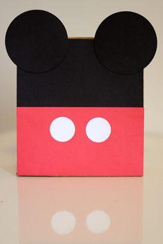 Do It Yourself - DIY - Sacolinha Mickey - Lembrancinha - Tuty - Arte & Mimos www.tuty.com.br