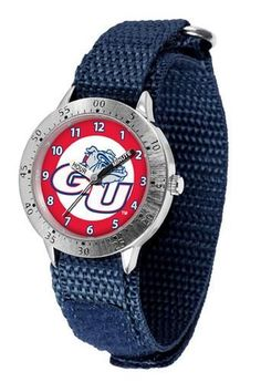 Gonzaga University Bulldogs Youth Watch Velcro Strap Watch