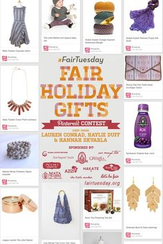 Pin to win the #FairTuesday pinterest contest - Mata Traders
