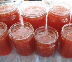 Strawberry Rhubarb Jam  I can't wait to try this recipe because my rhubarb is coming up beautifully now!