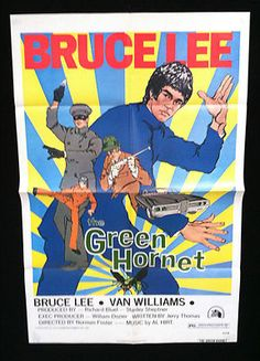 Bruce Lee's First Feature as Kato in the Green Hornet
