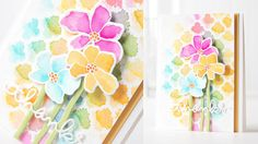 Such a Great Informative video by Shari Carroll for Simon Says Stamp 10 Ways to Water Color.