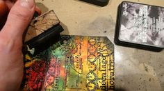 Unruly PaperArts: Tag You're It: Travel Tag Book--tutorial