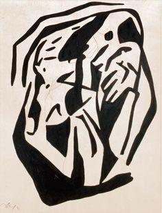 """""""Dada"""" by Hans Arp - 1920"""