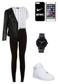 """""""Для прогулки."""" by explorer-14428363111 on Polyvore featuring мода, NIKE, The Horse и Myne"""