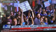 "BREAKING=> Protester Screams ""F*ck Hillary"" at Clinton's Post-Pneumonia Rally (VIDEO)"
