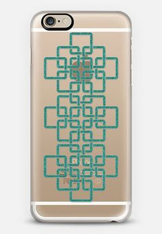 Check out my new @Casetify using Instagram & Facebook photos. Make yours and get $10 off using code: ZN4AQG #casetify #case #customcase #iphonecase #phonecover #clear #transparent #turquoise #teal blue #green #glitter #sparkle #clearcase #transparentcase #clearcase #pattern #celtic #celticpattern #celticart
