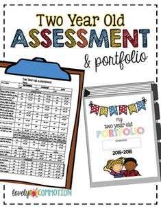 Two Year Old Assessment & Portfolio