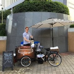 Cold Brew Coffee Bike Business: The Cold Brew Bike Might be a cool idea to create/bottle my own cold brew and sell during the summers