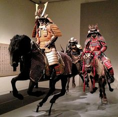 The History Place - Samurai Slide Show: Armor, Horse Armor, Masks and Tack - Various Types