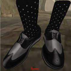1 GB Wing Tip Low Cut Shoes Black_001 | Flickr - Photo Sharing!