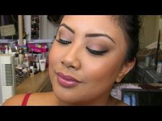 Work/Office Look #3 (Professional & Polished) (using Urban Decay's Naked Basics palette