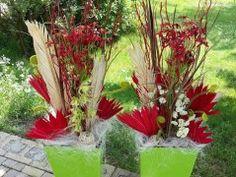 Květinová dekorace- Válka barev