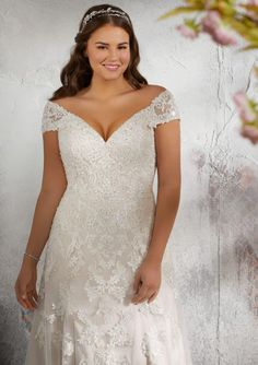 991bd075bfc Gorgeous Plus Size Wedding Dresses from the Julietta Collection. Elegant  Wedding DressBeautiful ...