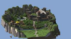The beginnings of a very cool looking adventure map. Minecraft Houses Blueprints, Minecraft House Designs, Minecraft Creations, Minecraft Castle, Minecraft Plans, Minecraft Stuff, Minecraft Structures, Minecraft Buildings, Minecraft Pictures