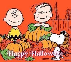 CHARLIE BROWN, LIONEL & SNOOPY IN THE PUMPKIN PATCH
