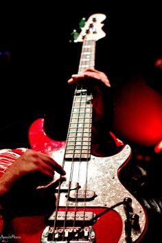 bass guitar , music , photography , concert , red , adrienne beacco , utah , rock n roll