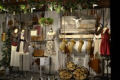 Imagining Your Interior Store With Rustic Boutique Display Retail Stores. Our wood displays are a superb addition to your display requirements. They a...