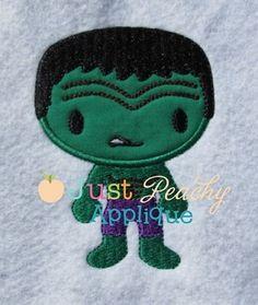 Hulk Applique Design