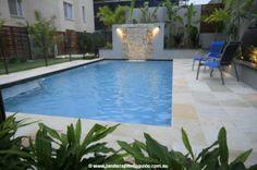 semi inground pools | Rectangular Semi Inground Pools http://www.landscapeinfoguide.com.au ...