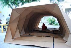 Cardborigami   Instant Space   Tina Hovsepian   Archinect