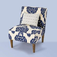 Trendy teen chain Urban Outfitters offers housewares that rival older sibling Anthropologie's—but at a fraction of the price. Stick to the furniture section, which includes this slipper chair in a classic ikat print. urbanoutfitters.com