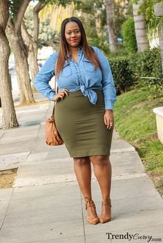 Plus Size Fashion for Women - Plus Size Outfit - Trendy Curvy