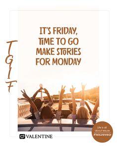 Happy Friday. Let the Weekend begin. https://www.valentineclothes.com #TGIF #ThankGoditsFriday #WeekendVibes #Weekendfun #Weekend #Valentine #FollowyourHeart #MadewithLove #LeisureWear #HappyShopping