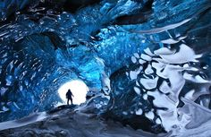 Skaftafell, Iceland Crystal Cave
