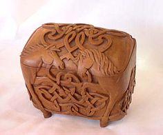 talla madera arca