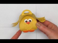 How to make a Cute Easter Chick using the Stampin' Up! UK Curvy Keepsake...