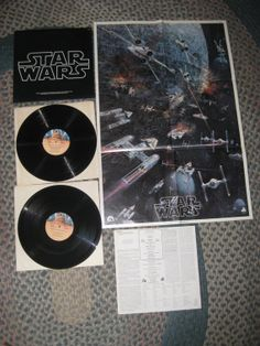 RARE Vintage Star Wars With POSTER John Williams by sweetleafvinyl, $44.44