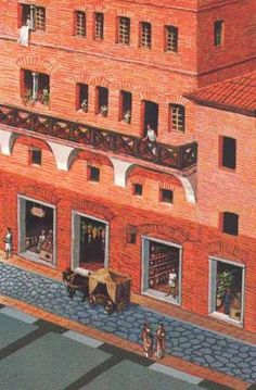 "Rome - Life in an ""Insula"""