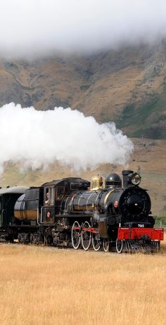 The Kingston Flyer -Classic Steam Locomotive in Action - NZ