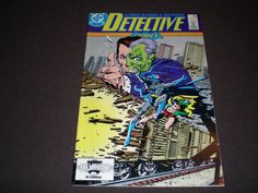 Batman comics DC Detective Comics 580 DC Comics 1987 by HeroesRealm on Etsy $5.99 @https://www.etsy.com/shop/HeroesRealm