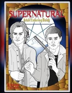 Supernatural Adult Coloring Book. bol.com