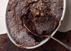 Chocolate Fudge Pudding Cake  This pudding cake just oozes chocolate -- it includes cocoa powder and chocolate chips. The addition of brewed coffee helps heighten the chocolate flavor. If you prefer, the recipe can be made with sugar substitute.