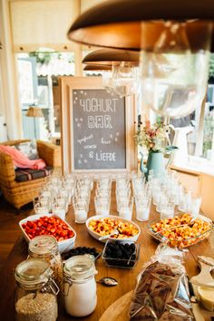 #wedding #lunch #yoghurtbar