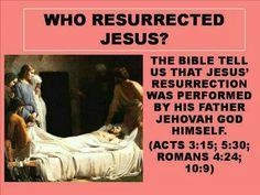 Who resurrected Jesus?                                                                                                                                                                                 More