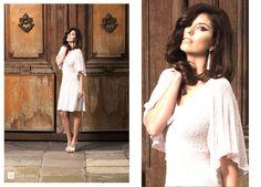Lyla dress.algodon con seda y lurex,tejido 100%artesanal. Caro Sosa 2016.