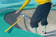 Golf Magazine Illustrations on Behance